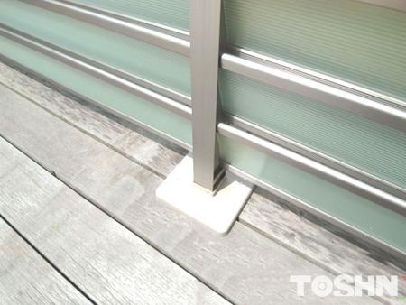 通風効果の目隠しフェンス設置 鎌倉市 A様邸