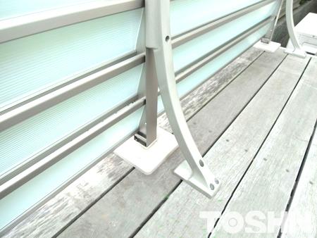 採光効果の目隠しフェンス設置 鎌倉市 A様邸