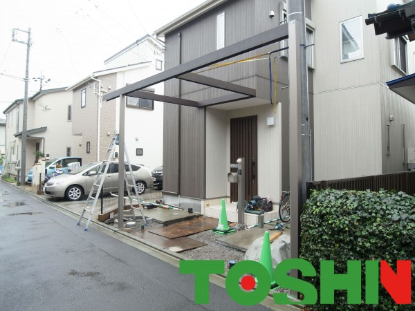 建売りの外構をおしゃれにリフォーム サーティーフォー その3 神奈川県