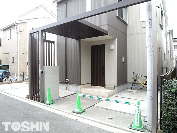 建売のエクステリアのおしゃれなリフォーム工事 神奈川県