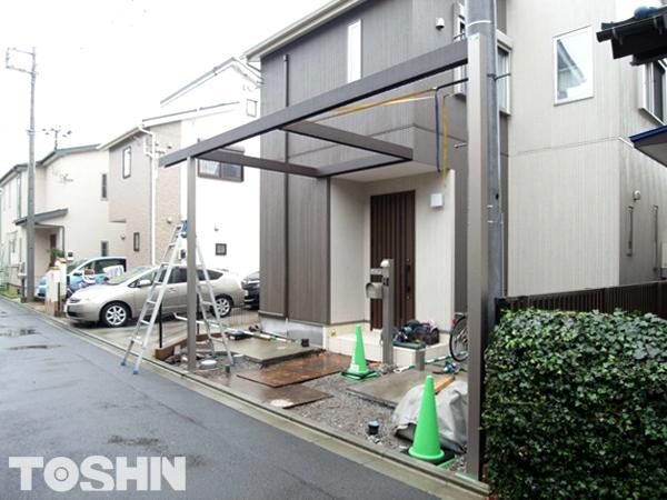 建売住宅のエクステリアのおしゃれなリフォーム 神奈川県