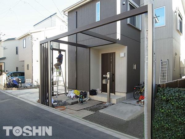 建売住宅の玄関まわりをグレードアップ 神奈川県