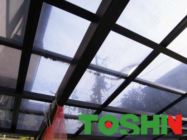 カーポートの落雪対策 東京都町田市