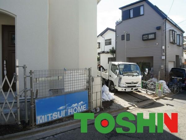 三井ホーム「シュシュ」の外構工事 神奈川県