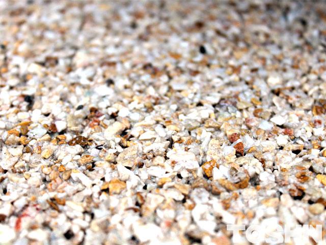 雑草対策使用の平板の自然石骨材 相模原市
