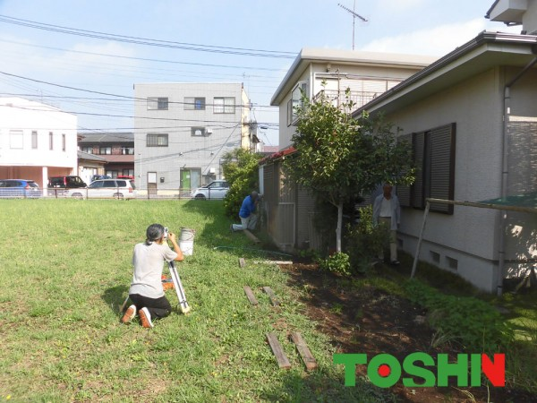 生垣からブロックフェンス