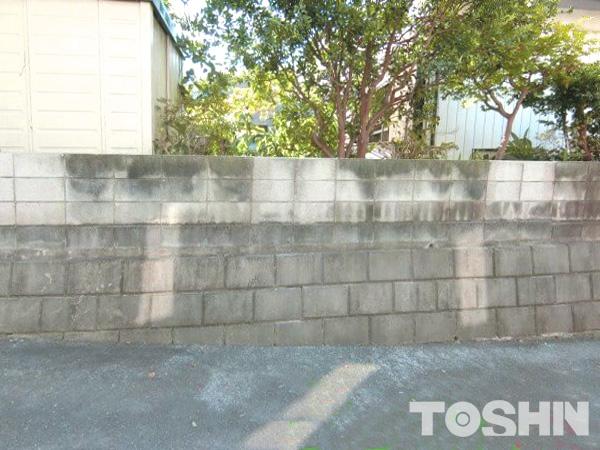 リフォーム外構 古いブロック塀 高さを変える 座間市 S様邸
