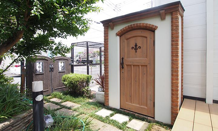 神奈川県相模原市でガーデニング,ガーデンルームの展示場01