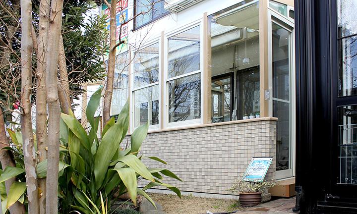 神奈川のココマⅡのガーデンルーム,ガーデニングのエクステリア展示場