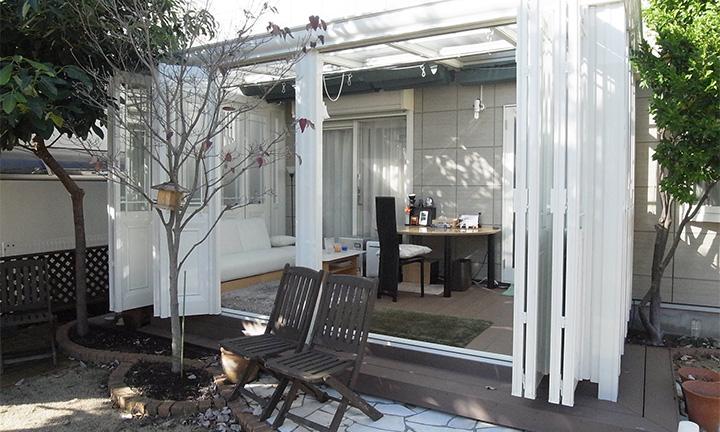 相模原市で将来をイメージした庭・ガーデン工事