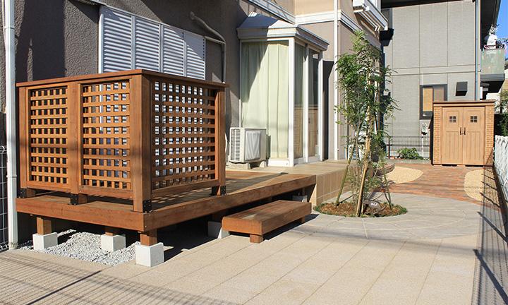 相模原市で庭まわり・ガーデンで使用するコンクリート