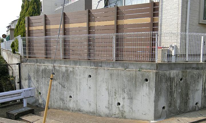 相模原市の目隠しフェンスの設置ポイント02