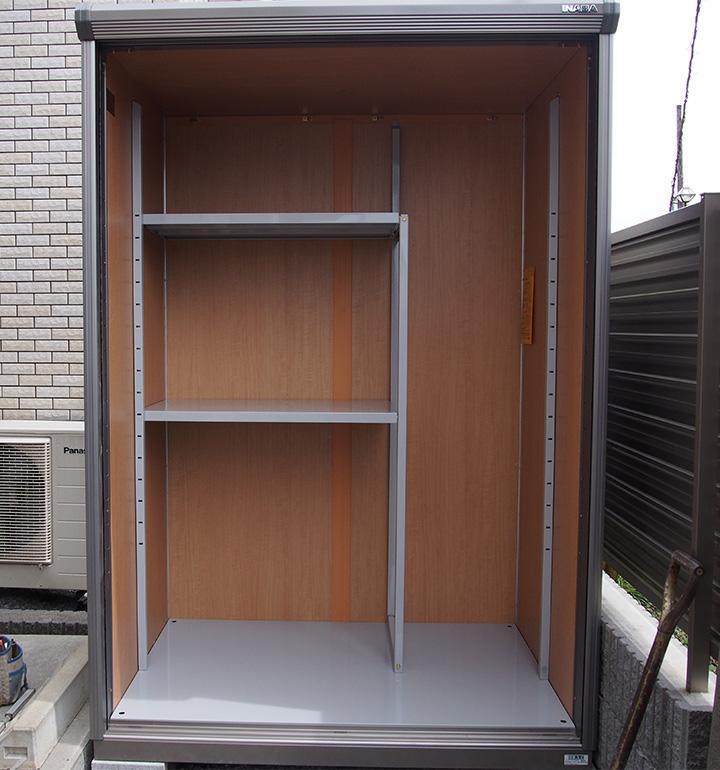 長もの収納タイプの物置・プレハブデザイン