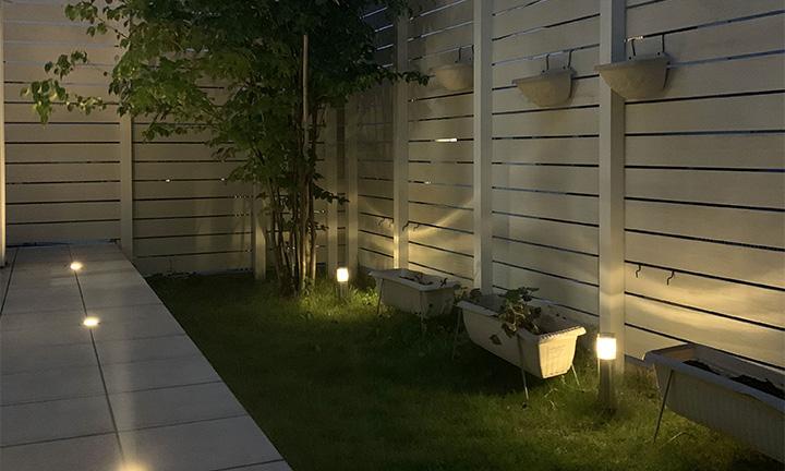 相模原市のフットライトの照明工事