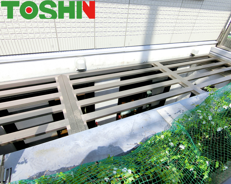 相模原市の地下室ドライエリア落下防止蓋設置の外構工事