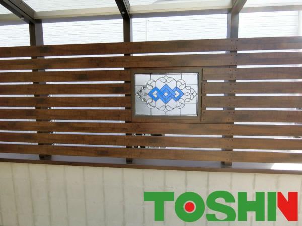 オープンタイプのココマで過ごす素敵なガーデンライフ 横浜市 ステンドグラス