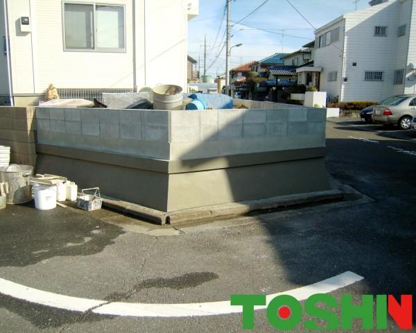 既存のブロック塀を美しくリフォーム 町田市
