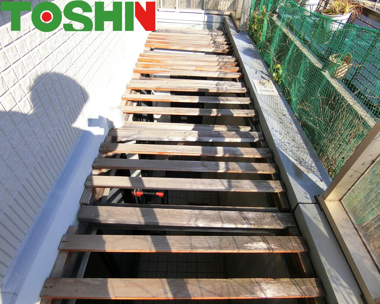 地下室ドライエリア落下防止蓋 施工前