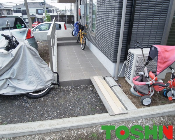 新築外構を見直してお庭をより使いやすく 座間市