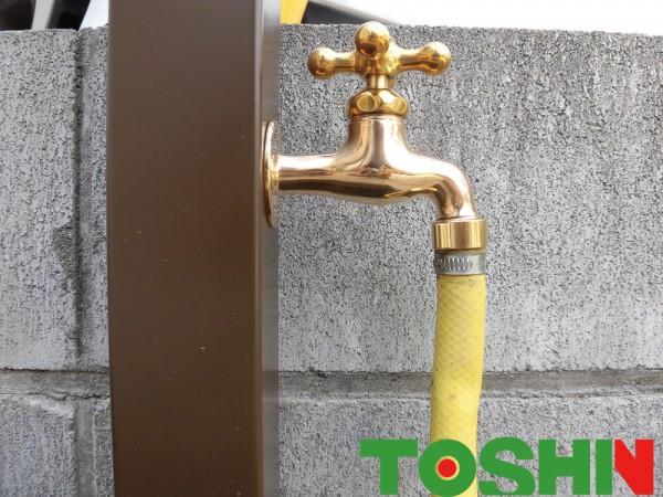 散水栓から立水栓に 座間市 H邸