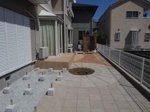 ワンチャンの為のお庭 座間市