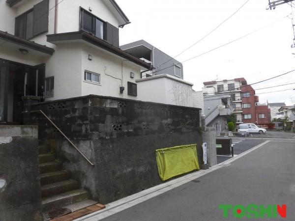 ブロック塀をフェンスに改修 相模原市