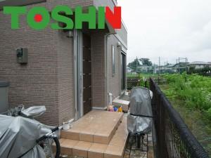 ガーデンルーム ココマ腰壁 ガラスブロック