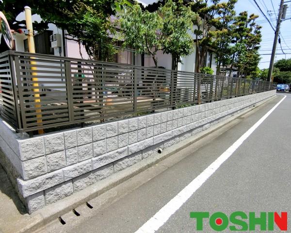 生垣をリフォームで使いやすい門まわりに 相模原市