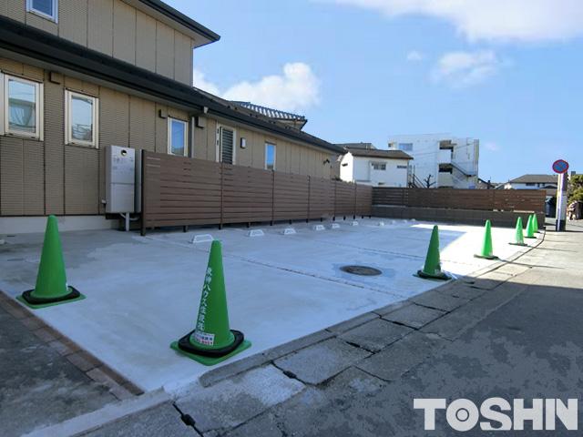 駐車場のコンクリート舗装工事 相模原市Y様邸