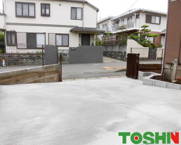 ブロック塀を安全なフェンスにリフォーム 座間市