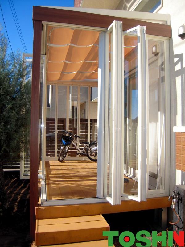 町田市のLIXILガーデンルームNEWジーマ設置の外構工事例