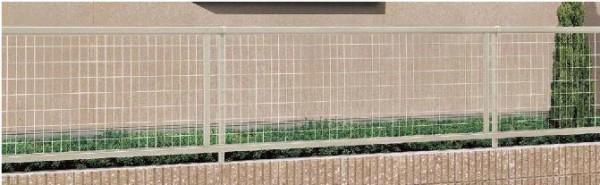 相模原市の外構工事の【LIXIL】フェンス アルメッシュフェンス