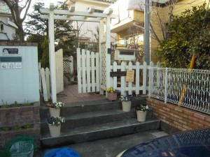 お家のファサードとお庭をリフォーム