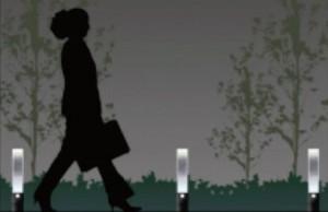 ガラスオブジェの照明 G.ロッドトーチ 【オンリーワン】