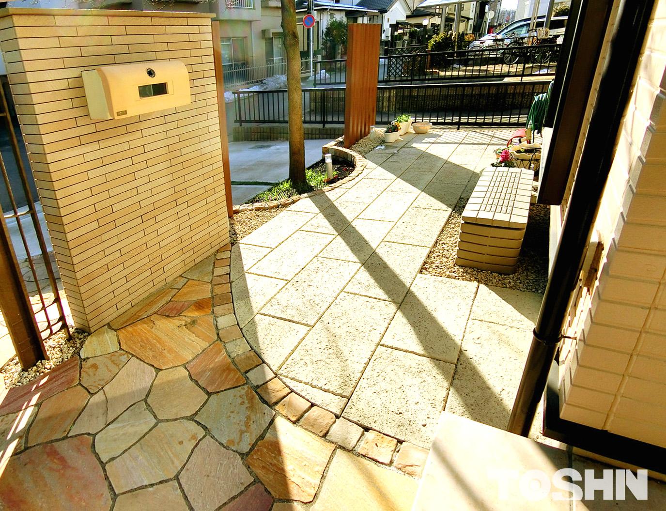 相模原市のお庭のリフォーム例