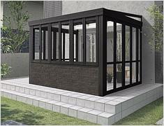相模原市のガーデンルームのNEW暖蘭物語 (腰壁タイプスタイルB・フルガラス仕様)LIXIL