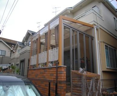 ガーデンルーム「ココマ」でお庭を有効活用 座間市H様邸