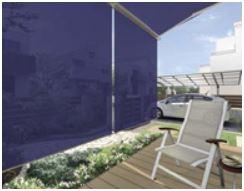 相模原市のウッドデッキのテラス 【LIXIL】オーニング 彩風(あやかぜ) カラーラインナップ