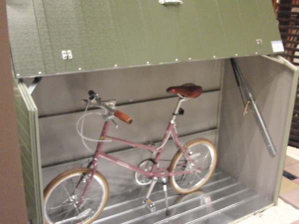 おしゃれな自転車倉庫 TM3【ガーデナップ】