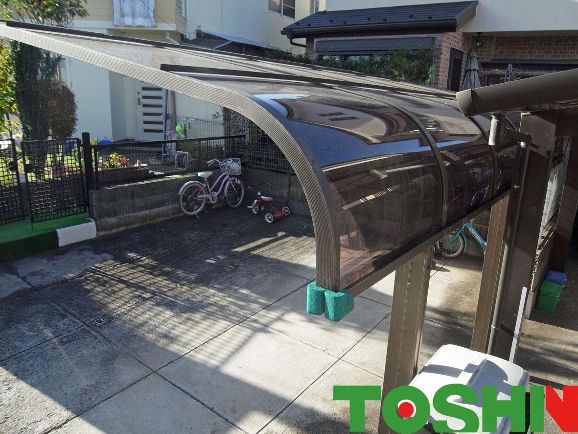 カーポート屋根補強
