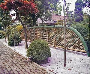 相模原市の和庭園テイストの外構工事