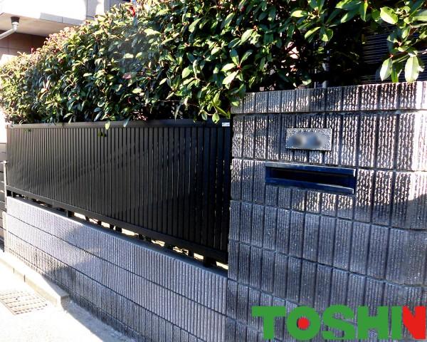 相模原市の事故によるブロック塀修理の外構工事