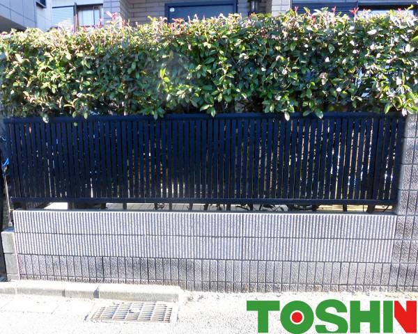事故によるブロック塀の修理 相模原市