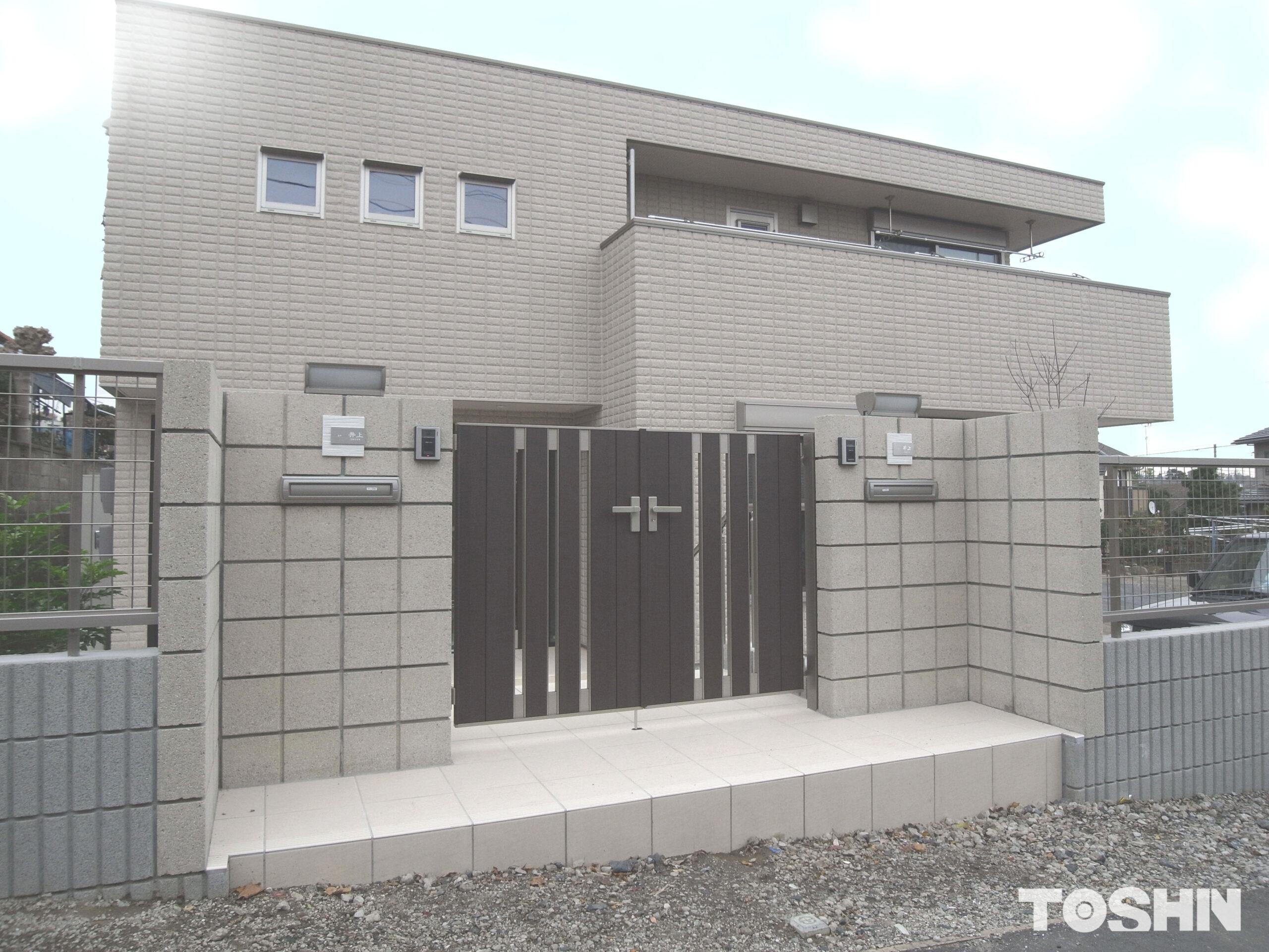 町田市のエクステリアの新築外構