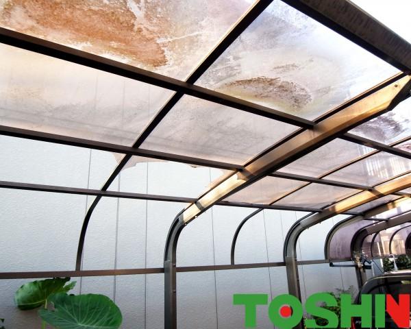 カーポート屋根の修理 相模原市
