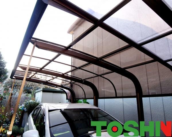 相模原市のカーポート屋根施工の外構工事