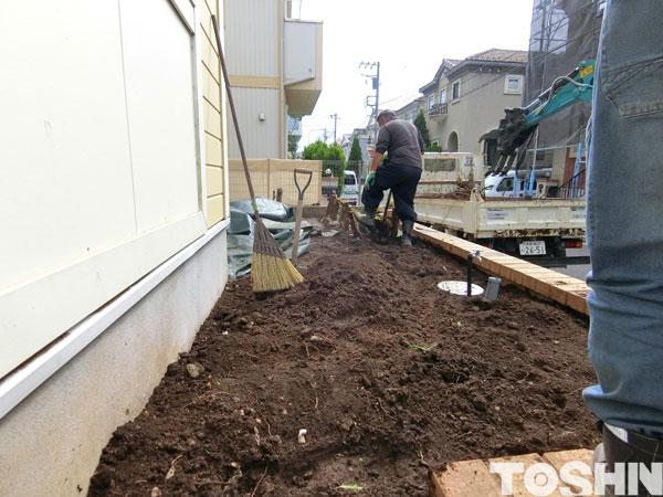 ガーデンルーム工事
