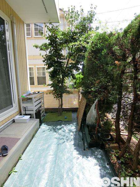 ガーデンルームでお庭の有効活用