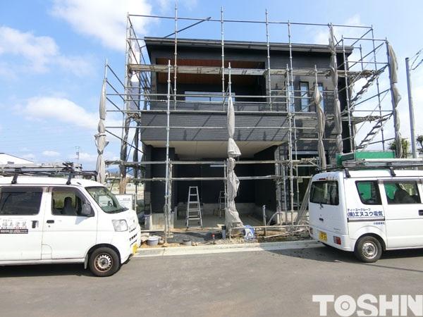 新築外構 施工前