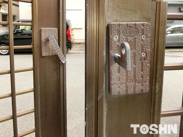 相模原市 両開き門扉の交換